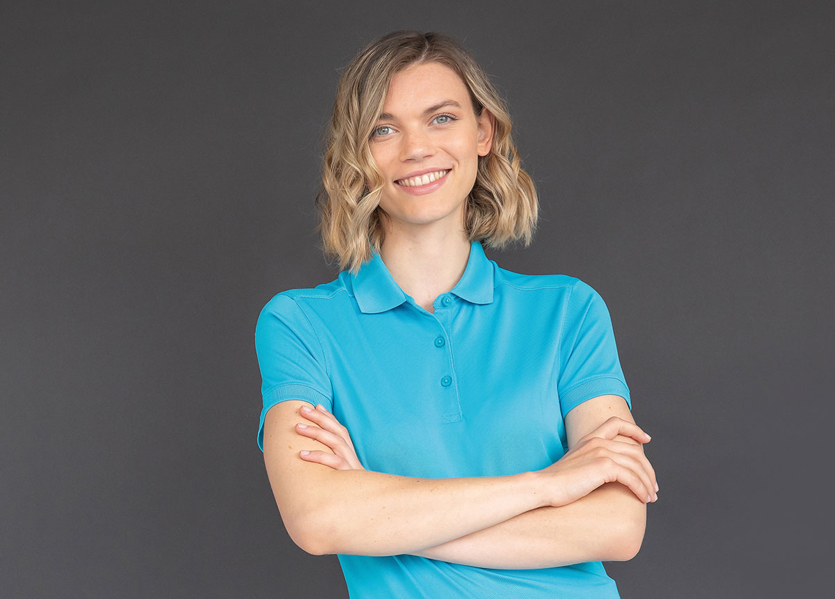 Sussex Clothing woman's polo shirt